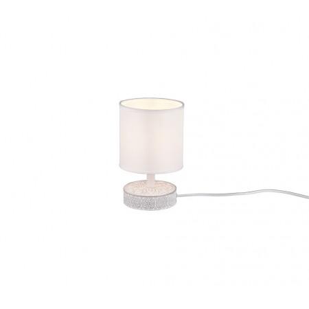 Lámpara de Sobremesa Trio Marie Blanco 1 Bombilla E14 14cm