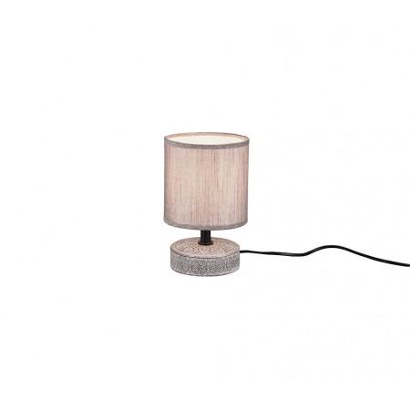 Lámpara de Sobremesa Trio Marie Marrón 1 Bombilla E14 14cm