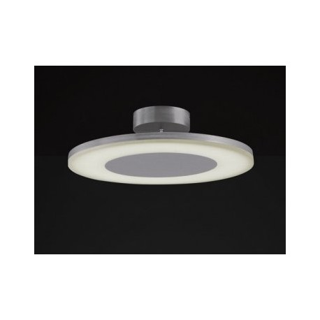 Lámpara Plafón de Techo Discóbolo Aluminio Led 48cm