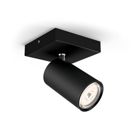 Foco Philips Kosipo negro 1 luz