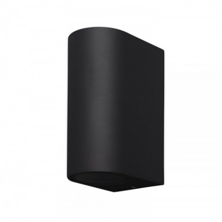 Aplique de Pared Mantra Kandanchu Negro 2 Luces