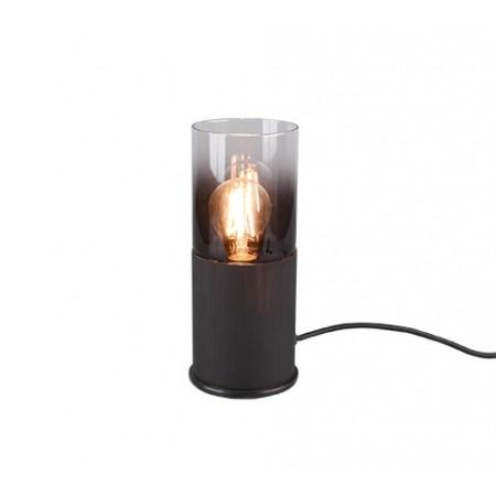 Lámpara de Sobremesa Trio Robin Negro 1xE27