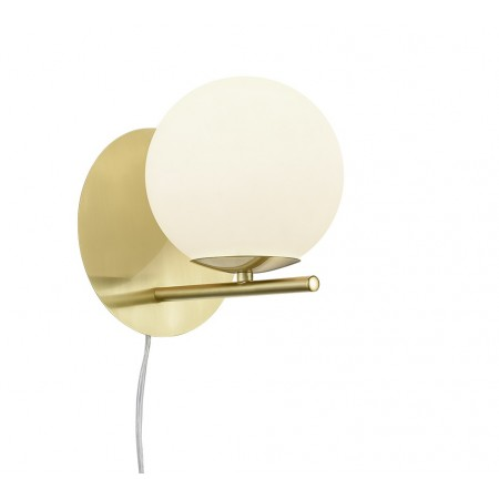 Aplique de Pared Trio Pure Bronce Blanco