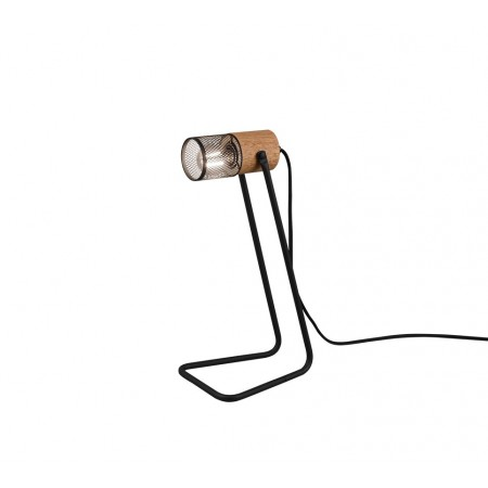 Lámpara de Sobremesa Trio Tosh Negro 1xE14