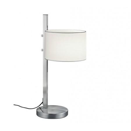 Lámpara de Sobremesa Trio Arcor Níquel y Blanco 1xE27