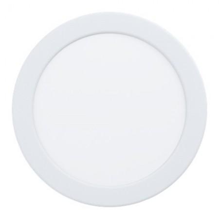 Downlight Empotrar LED Eglo Fueva 5 Redondo Dimable 10.5w luz Cálida