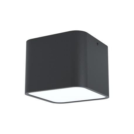 Plafón de Techo Eglo Grimasola Negro E27