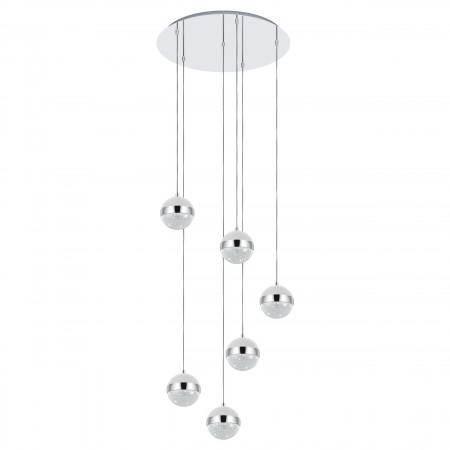 Lámpara Colgante Eglo Licoroto Seis Alturas 6xG9-LED