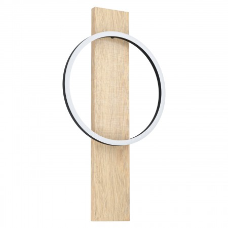 Aplique de pared Eglo Boyal Madera LED Integrado