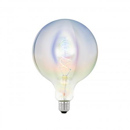 Bombilla Vintage LED Gigante Globo Eglo 3W Iridiscente