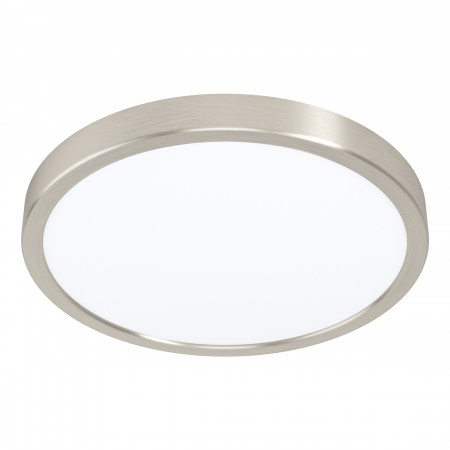 Downlight Superficie LED Eglo Fueva 5 Redondo Niquel-mate Luz Neutra 20W