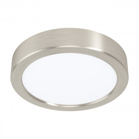 Downlight Superficie LED Eglo Fueva 5 Redondo Niquel-mate Luz Neutra 10.5W
