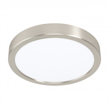 Downlight Superficie LED Eglo Fueva 5 Redondo Niquel-mate Luz Neutra 16.5W
