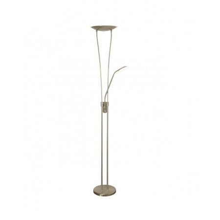 Lámpara de pie Olimpo Cuero LED 18+5W 4000k