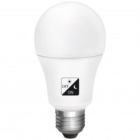 Bombilla LED Crepuscular Estandar Matel 10w E27 luz Fria