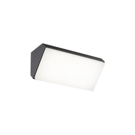 Aplique de Pared Mantra Solden Horizontal Negro Led 9w
