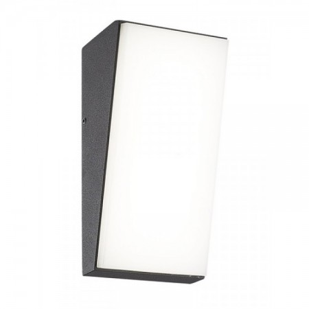 Aplique de Pared Mantra Solden Vertical Negro Led 9w