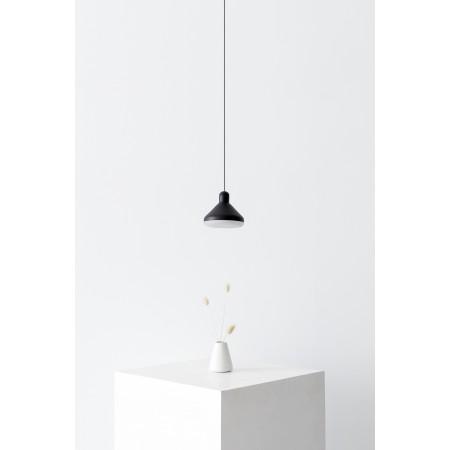 Lámpara Colgante LED Mantra Antares negro 1 Luz 8W 3000k