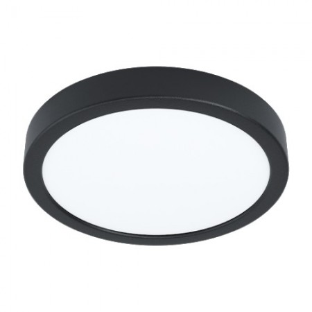 Downlight Superficie LED Eglo Fueva 5 Redondo Negro Luz Neutra 16.5W