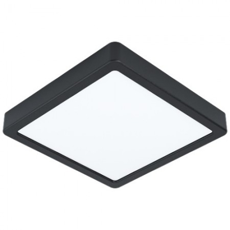 Downlight Superficie LED Eglo Fueva 5 Negro Luz Neutra 16.5W