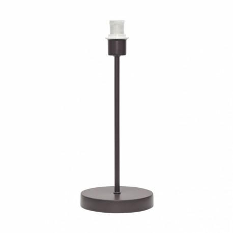 Lámpara de Sobremesa sin pantalla Basic Marrón 1xE14