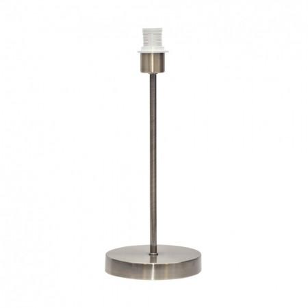Lámpara de Sobremesa sin pantalla Basic Cuero 1xE14