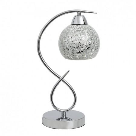 Lámpara de Sobremesa Tandil Cromo 1xE14