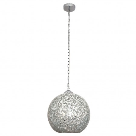 Lámpara Colgante Tandil Cromo 1xE27 30cm