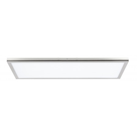 Panel Led Superficie Tolstoi Níquel Satinado 72W 6400k 120x30x2.3