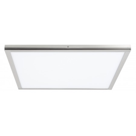 Panel Led Superficie Tolstoi Níquel Satinado 36W 6400k 40x40x2.3