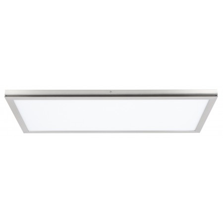 Panel Led Superficie Tolstoi Níquel Satinado 36W 6400k 60x30x2.3