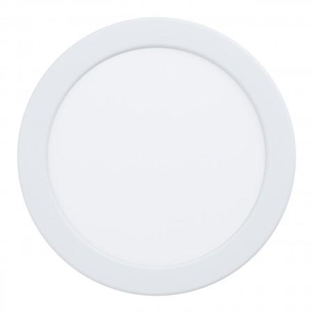 Downlight Empotrar LED Eglo Fueva 5 IP44 Redondo Blanco 10.5w luz Cálida