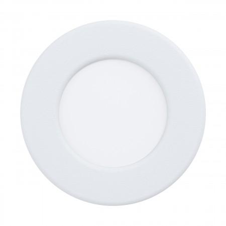 Downlight Empotrar LED Eglo Fueva 5 IP44 Redondo Blanco 2.7w luz Cálida
