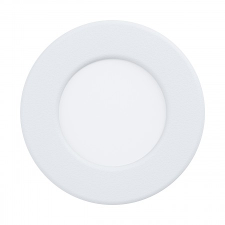 Downlight Empotrar LED Eglo Fueva 5 IP44 Redondo Blanco 2.7w luz Neutra