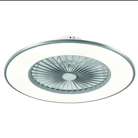 Ventilador de Techo Fabrilamp Bofu Plata Regulable