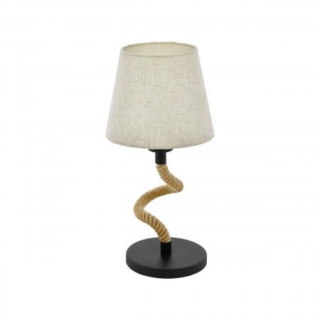 Lámpara de Sobremesa Eglo Rampside Pantalla y Cuerda 1xE27