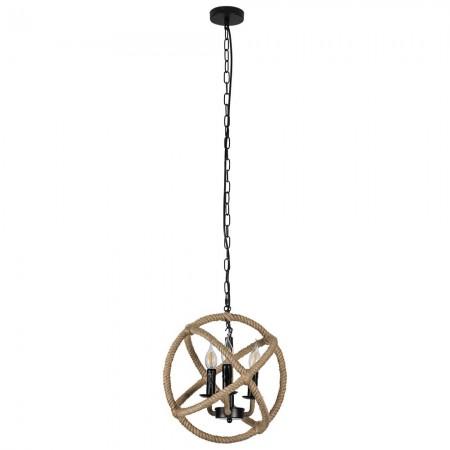 Lámpara Colgante Fabrilamp Soga 1xE27 Cuerda circular REGx35D