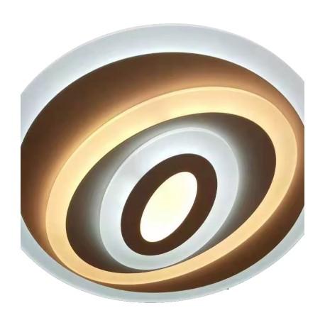 Plafón LED de Techo Sauron Acrílico transparente 110W Regulable