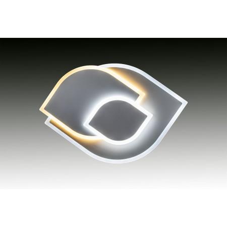 Plafón de Techo LED Hojas Blanco 94W 3350lm Regulable