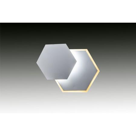 Plafón de Techo/Pared LED Pequeño A4 Blanco 18W 1000lm Regulable