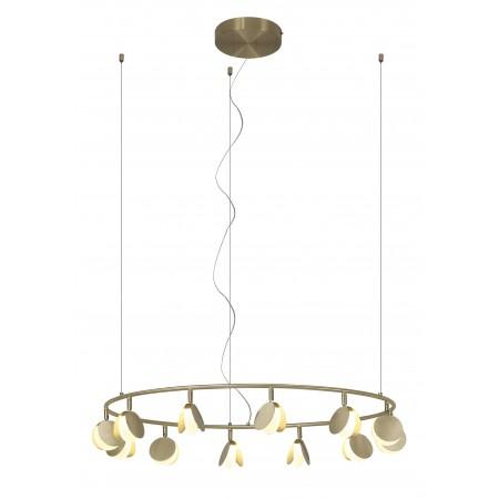 Lámpara Colgante LED Shell Mantra 12 Luces