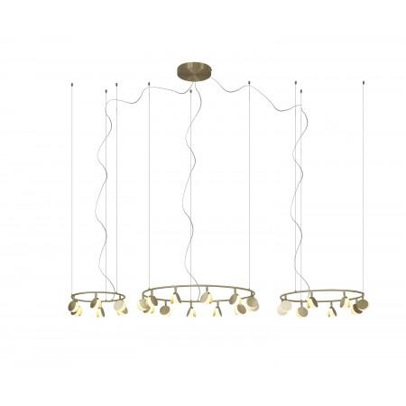 Lámpara Colgante LED Shell Mantra 12L+8L+6L