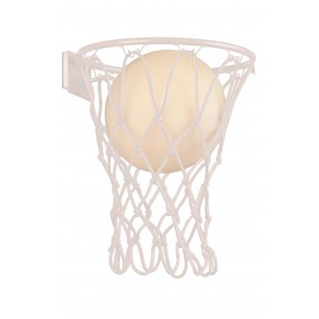 Aplique de Pared Basketball Mantra Blanco E27