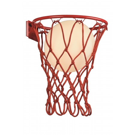 Aplique de Pared Basketball Mantra Rojo E27