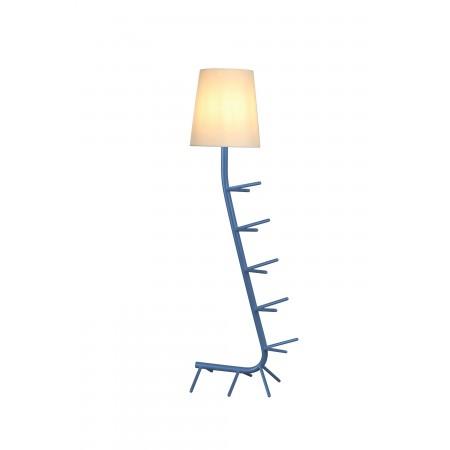 Lámpara de Pie Centipede Mantra Azul E27
