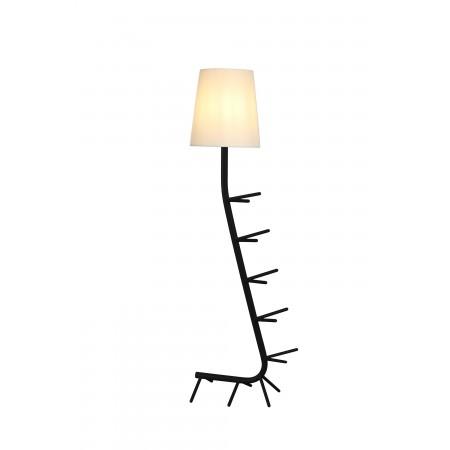 Lámpara de Pie Centipede Mantra Negro E27