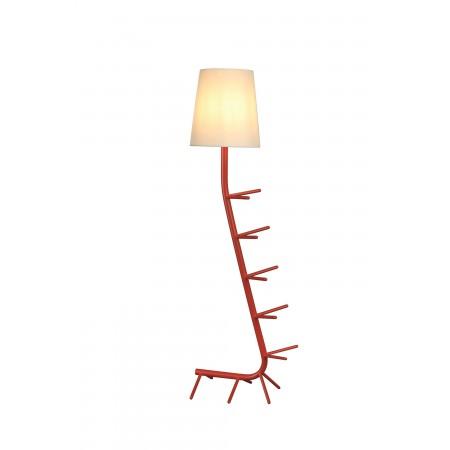 Lámpara de Pie Centipede Mantra Rojo E27