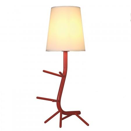 Lámpara de Sobremesa Centipede Mantra Rojo E27