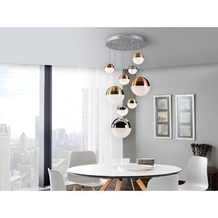 Lámpara Colgante LED Sphere Schuller 9 Luces