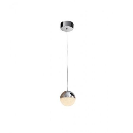 Lámpara Colgante LED Sphere Schuller Plata 1 Luz 12cm